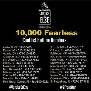 Conflict Hotline Numbers